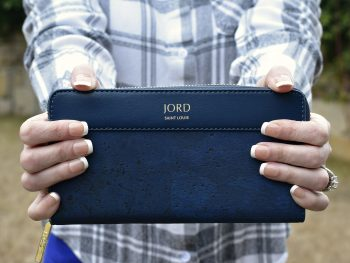 jord vegan leather wallet in front