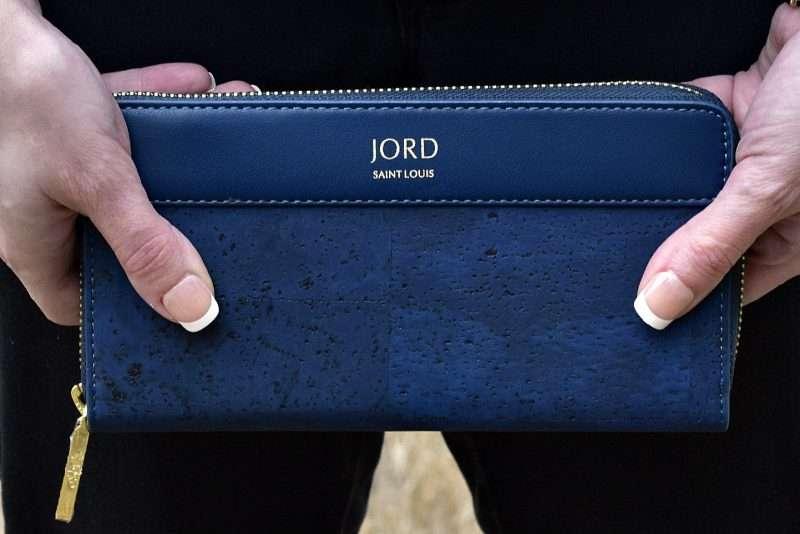 jord vegan leather wallet up close