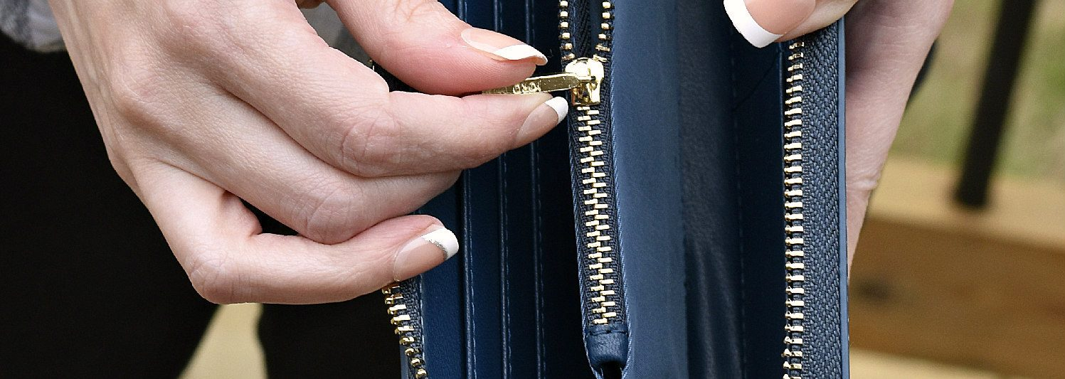 jord vegan leather wallet zipper