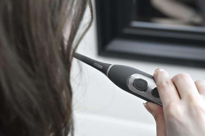 using cariPRO™ Ultrasonic toothbrush