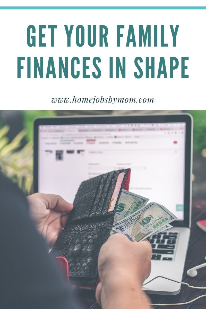 Get Your Family Finances in Shape