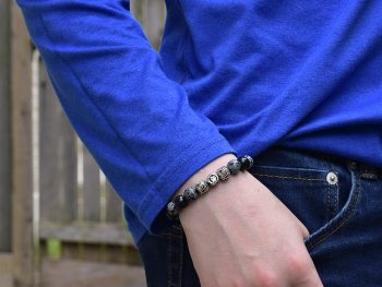 Azuro Republic bracelet with jeans