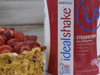 strawberry idealshake