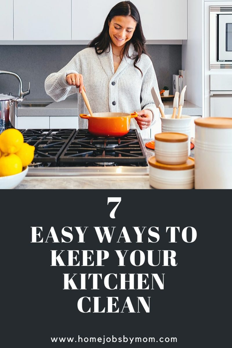 Easy Ways to Keep Your Kitchen Clean