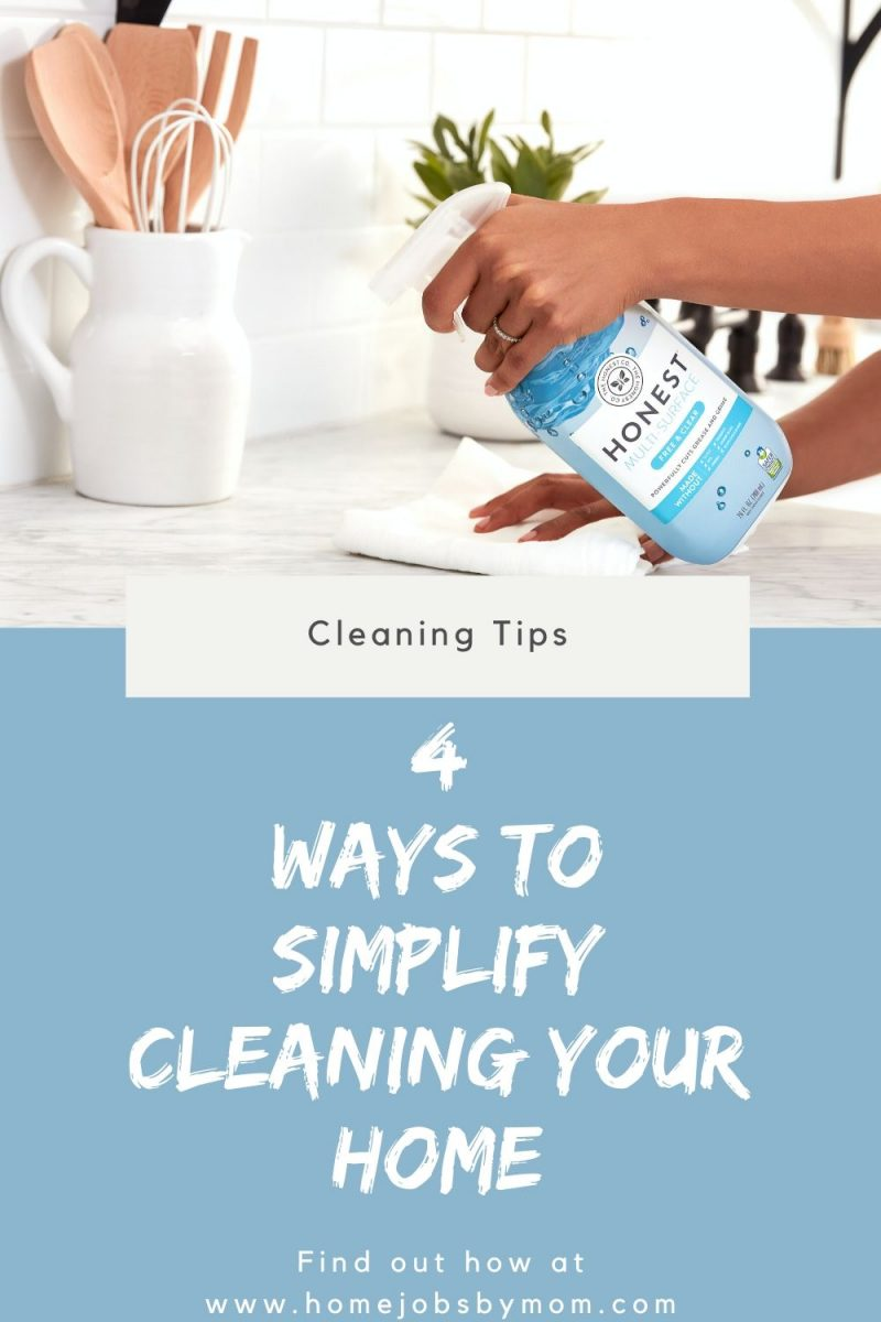 Ways to Simplify Cleaning Your Home
