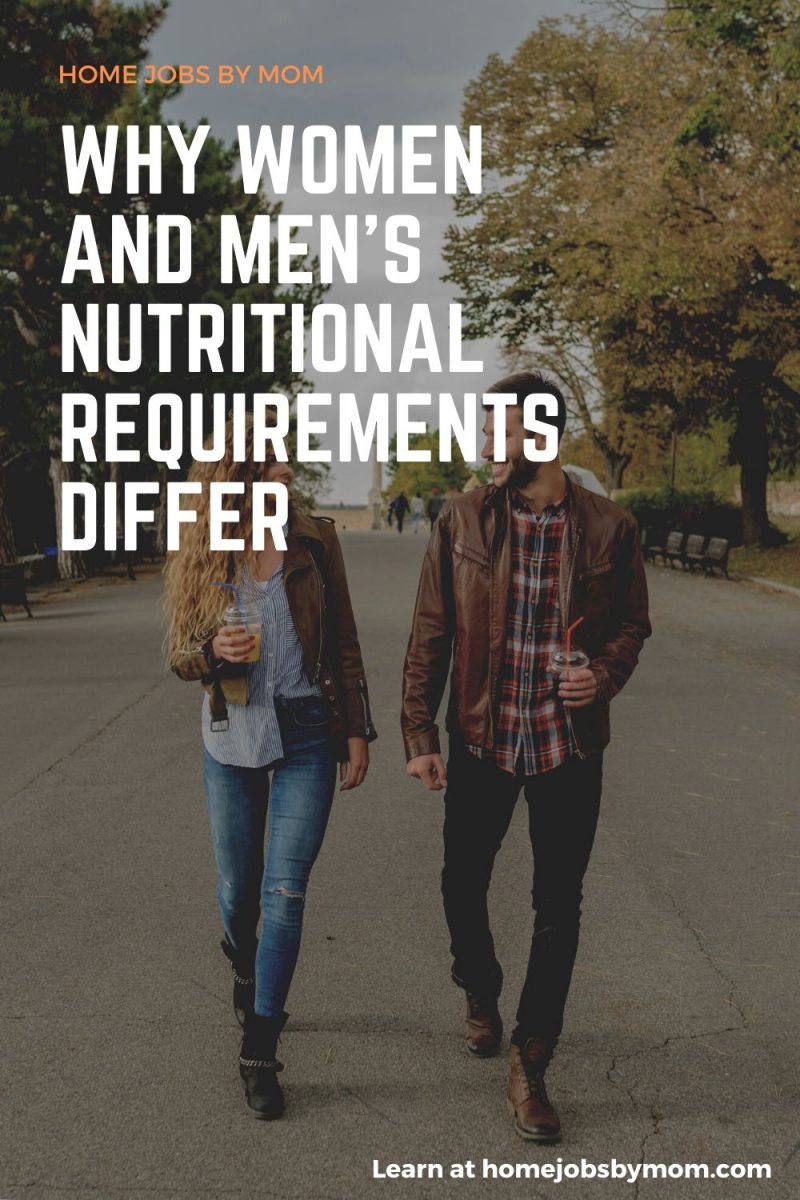 Why Women and Men's Nutritional Requirements Differ