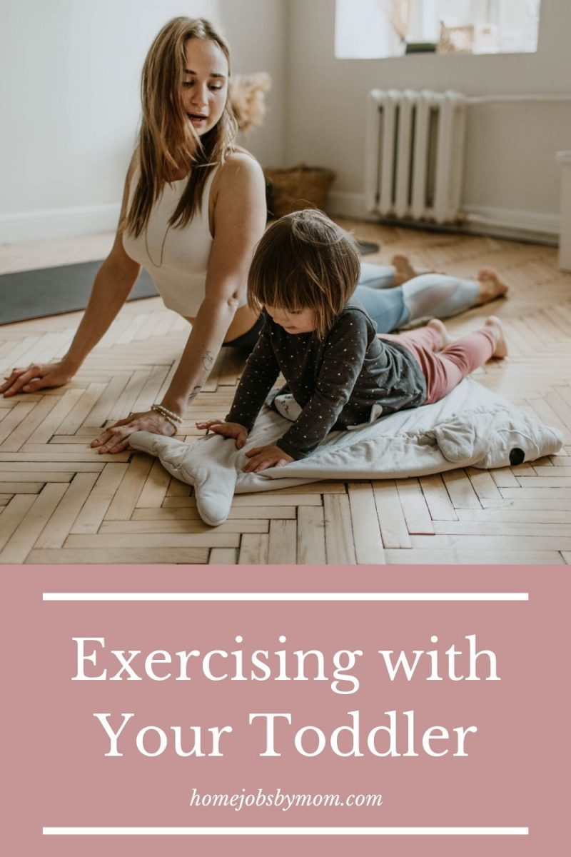 Exercising with Your Toddler