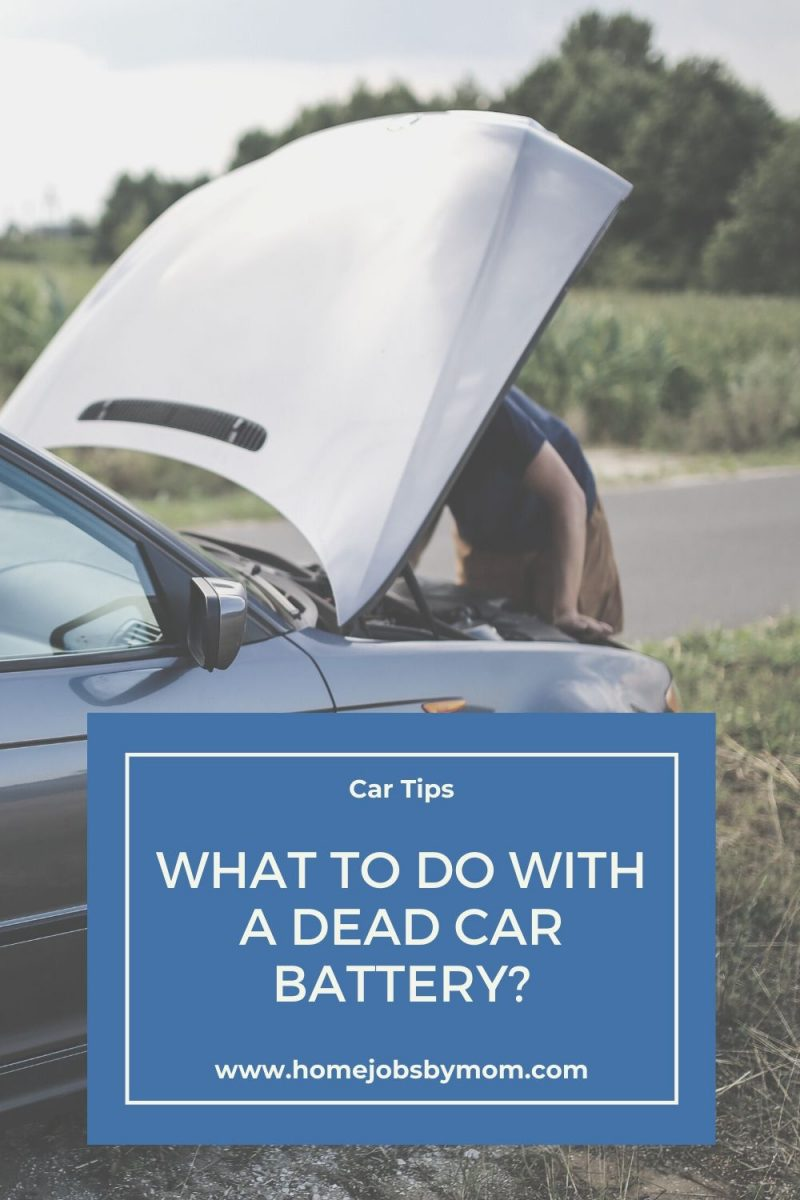 What to do with a Dead Car Battery_