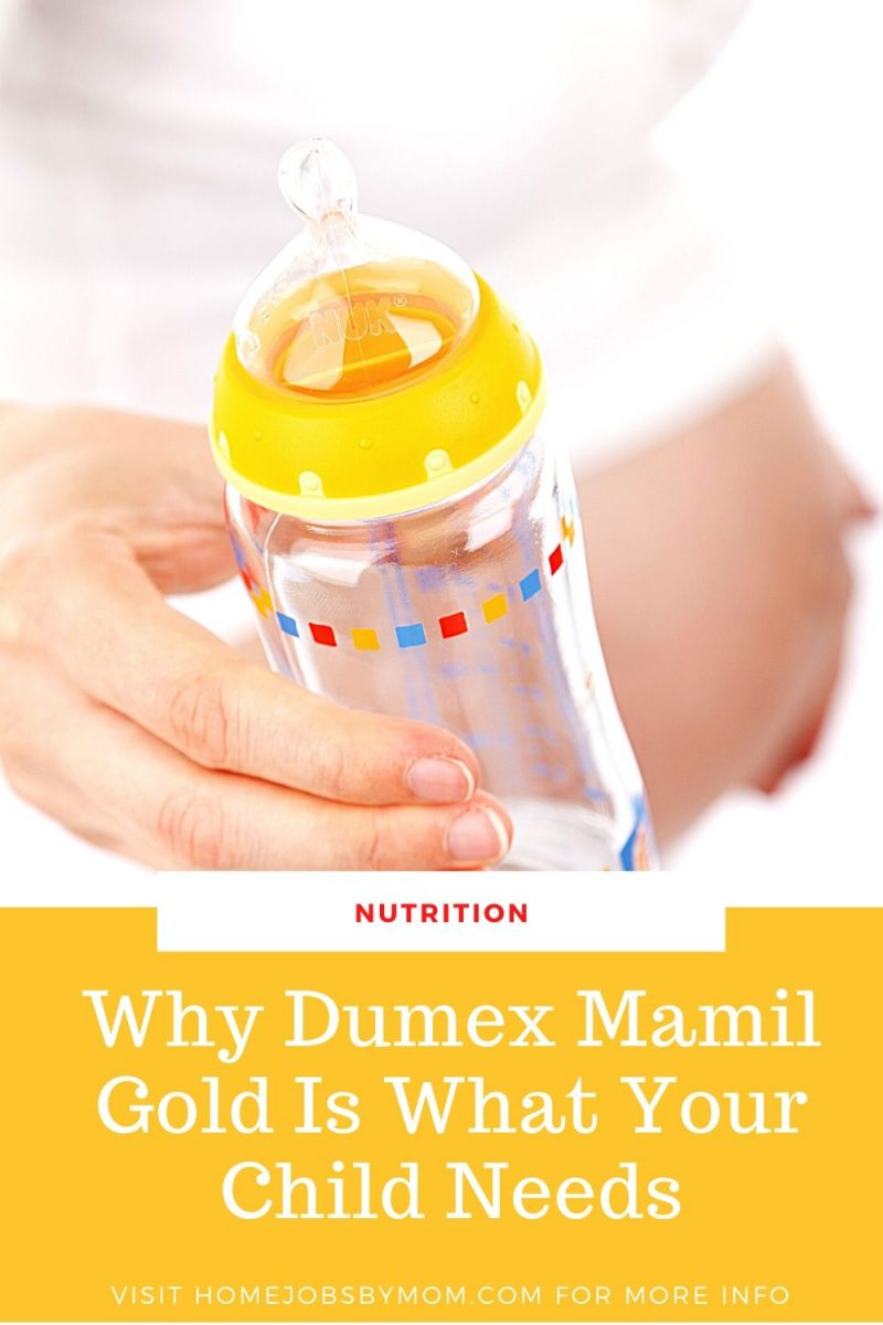 Why Dumex Mamil Gold Is What Your Child Needs