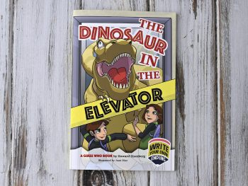 Dinosaur in the Elevator: A Guess Who Book