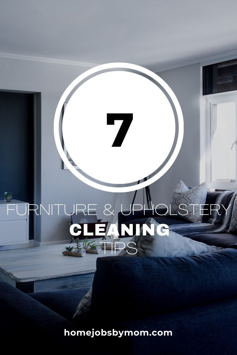 Furniture And Upholstery cleaning tips