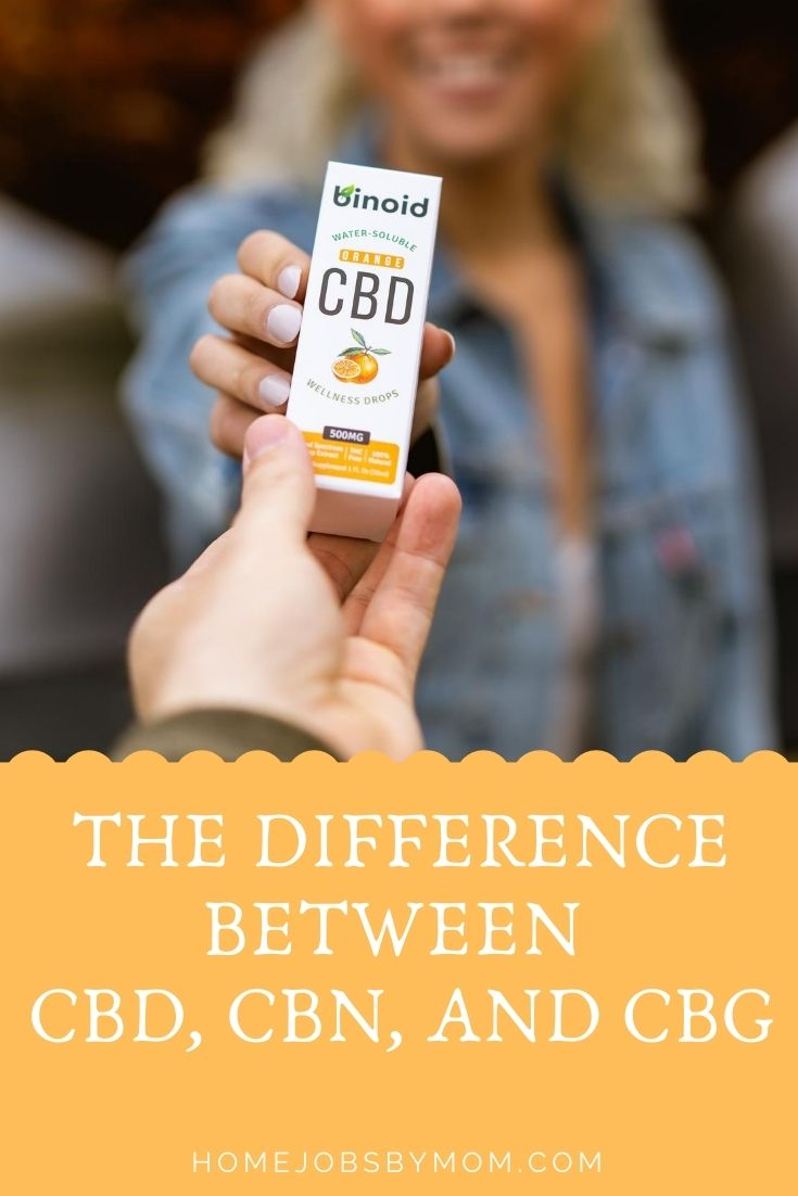 The Difference between CBD, CBN, and CBG
