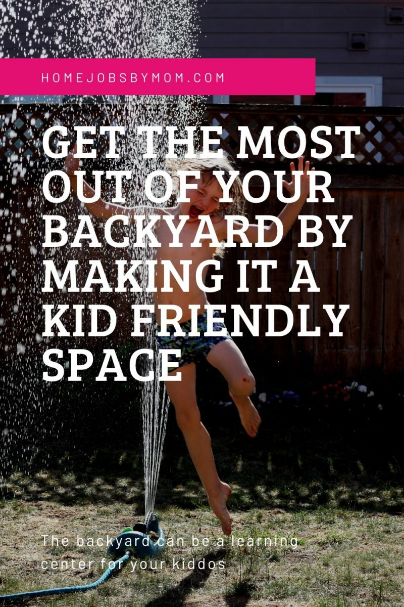 backyard can be a learning center