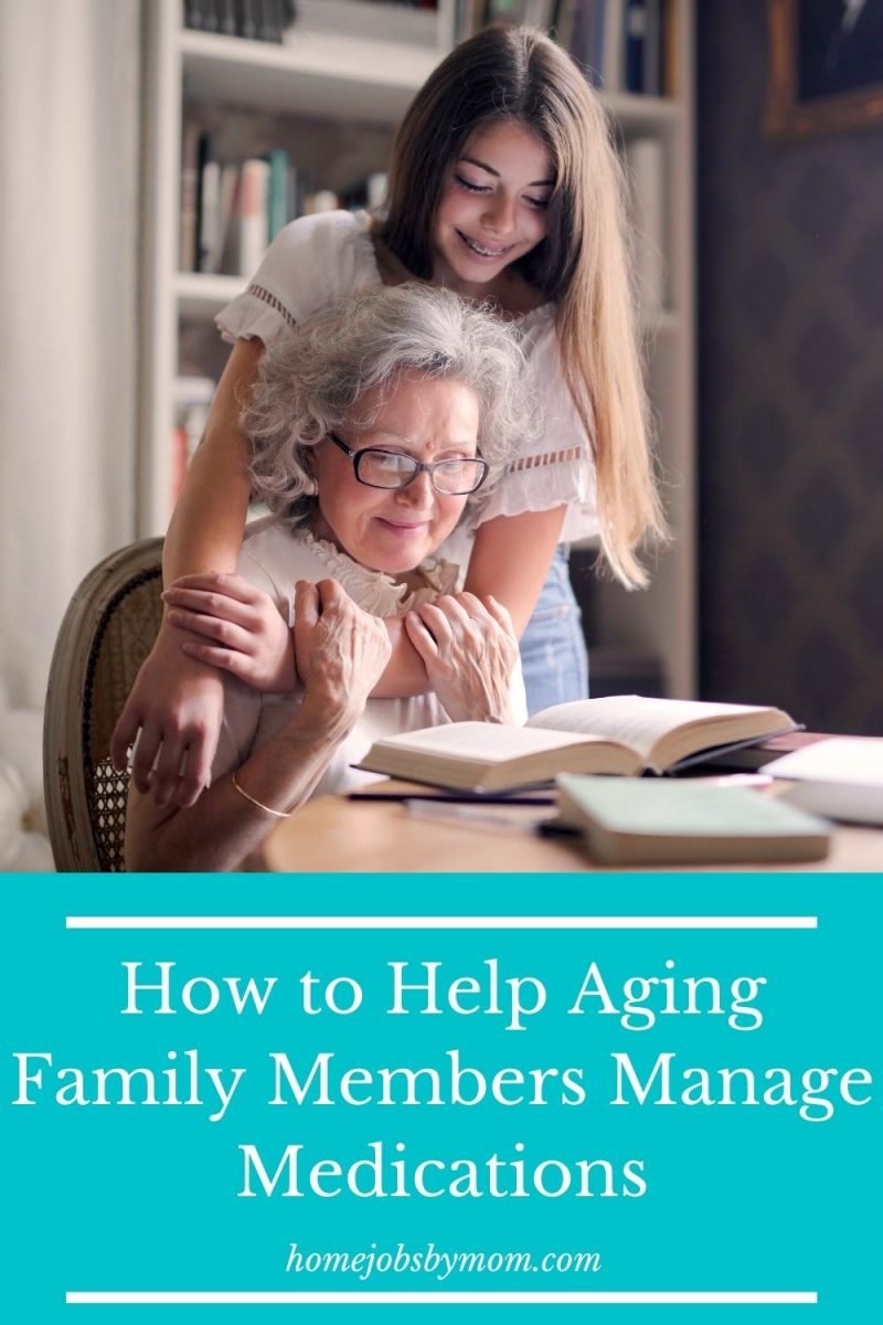 How to Help Aging Family Members Manage Medications