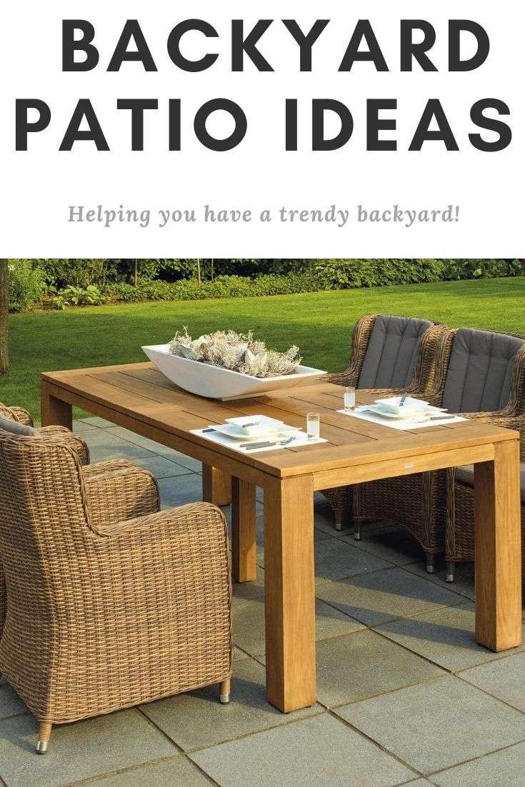 Trendy Backyard Patio Ideas