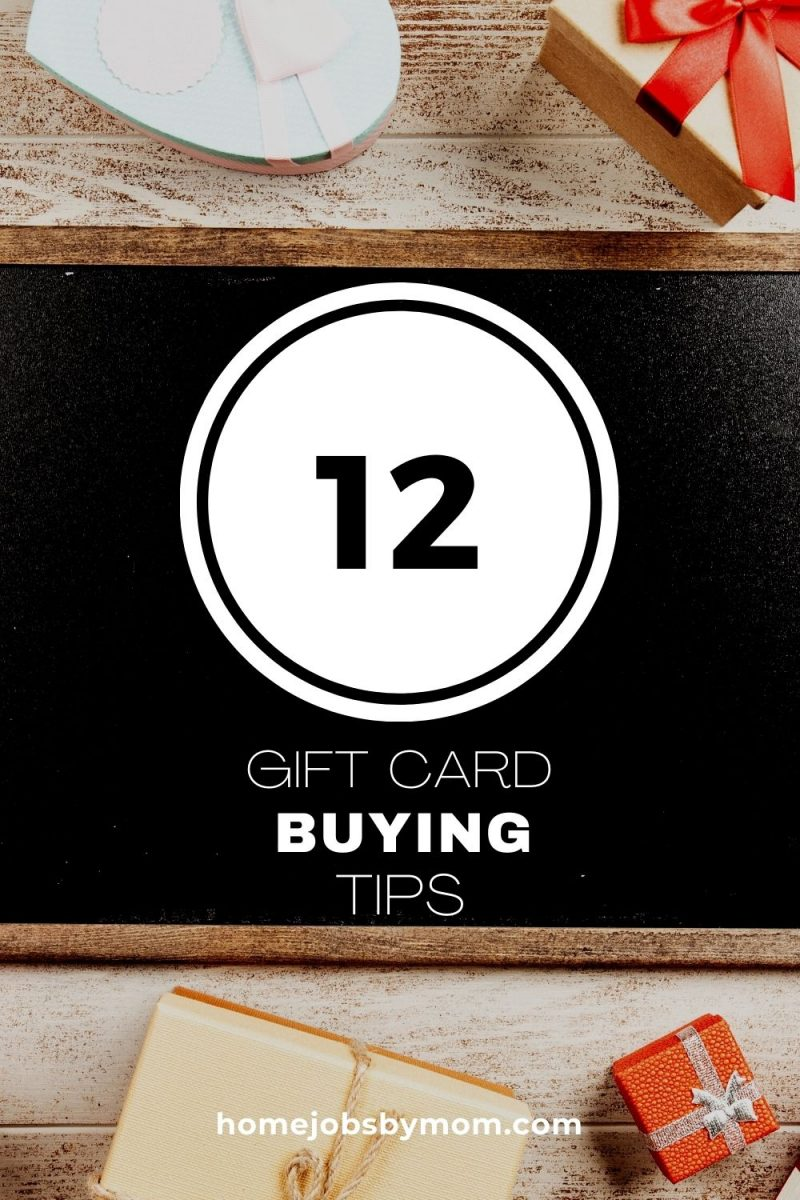 12 Tips for Buying Gift Cards