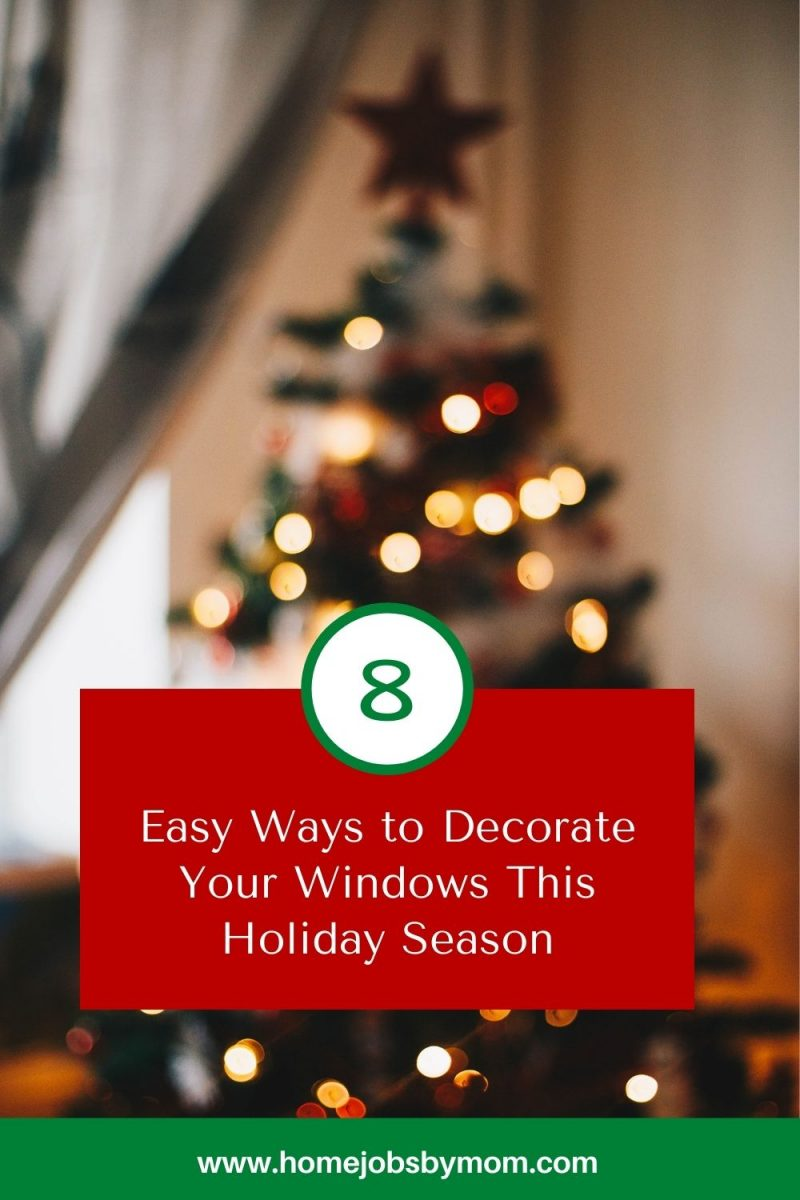 Easy Ways to Decorate Your Windows This Holiday Season