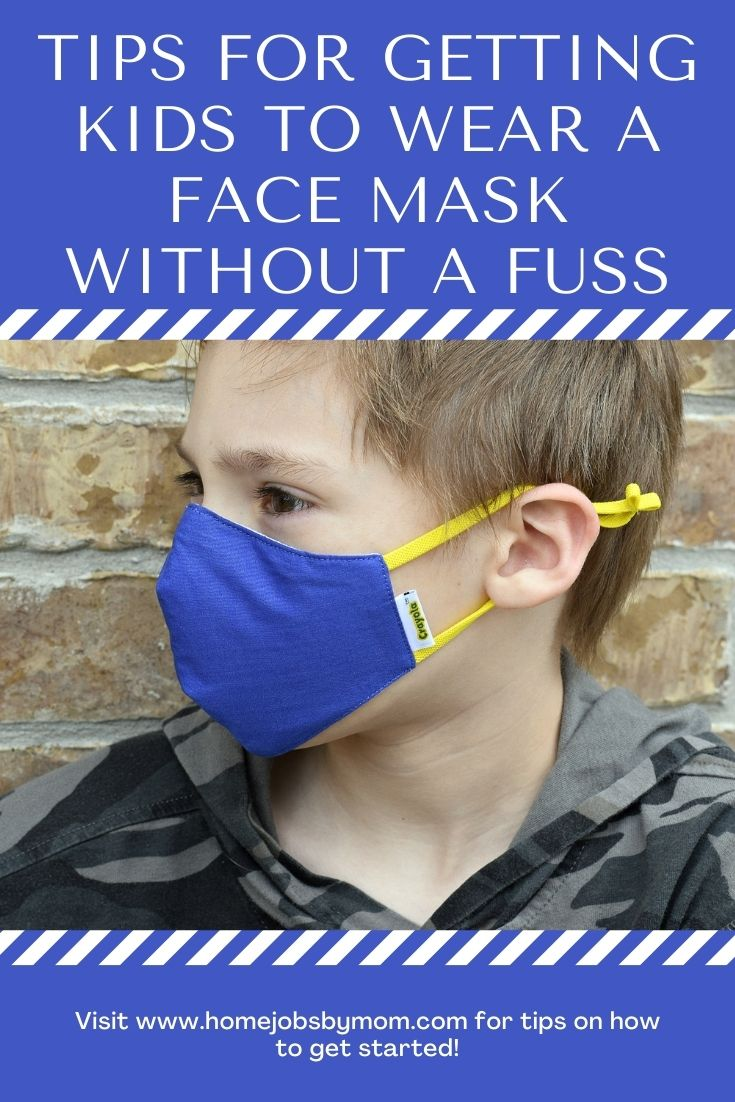 Tips for Getting Kids to Wear a Face Mask Without a Fuss