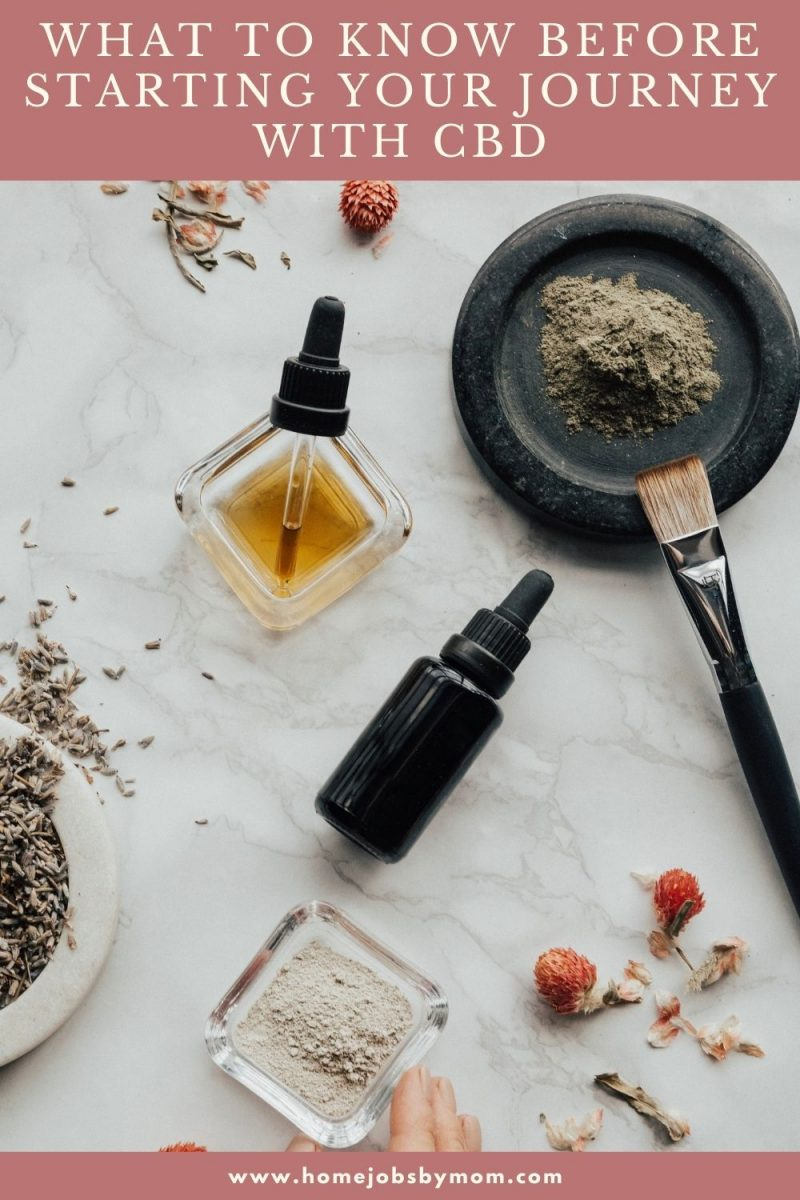 Essential Things You Have to Know before Starting Your Journey with CBD