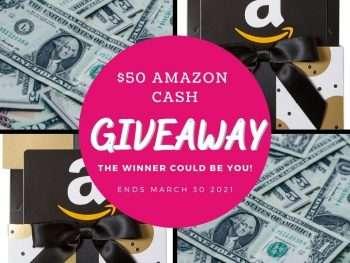 amazon cash giveaway