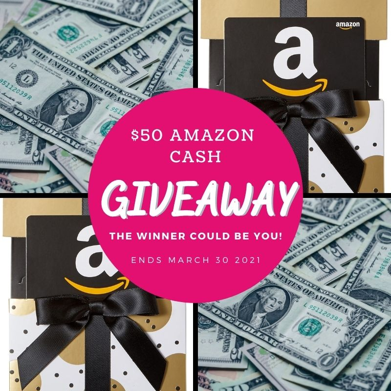 amazon cash giveaway