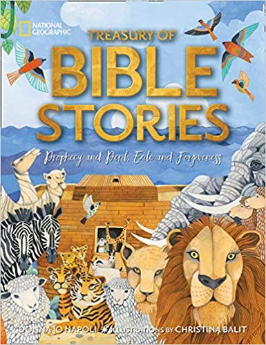 Treasury of Bible Stories book for easter basket