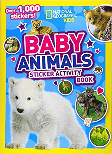 National Geographic Kids Baby Animal Sticker Activity Book