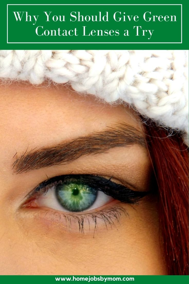 Why You Should Give Green Contact Lenses a Try (1)