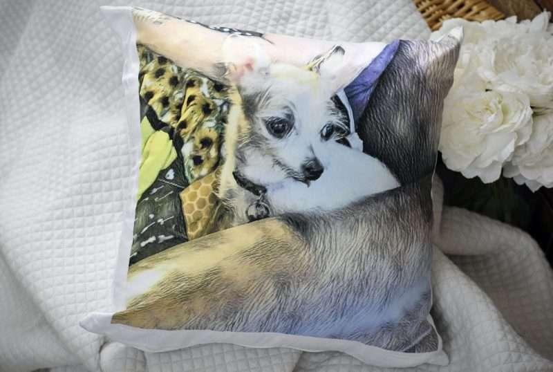 chi chi pillow