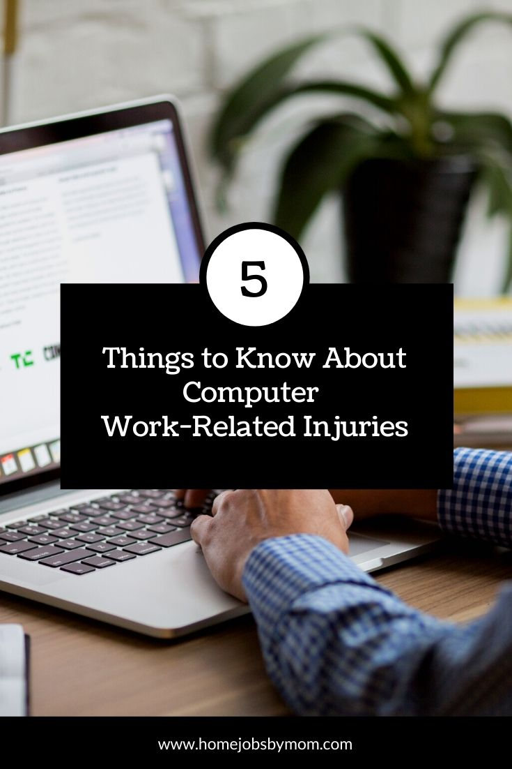 5 Things to Know About Computer Work-Related Injuries