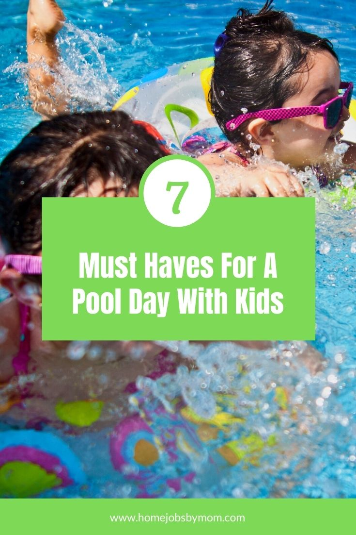 7 Must Haves For A Pool Day With Kids