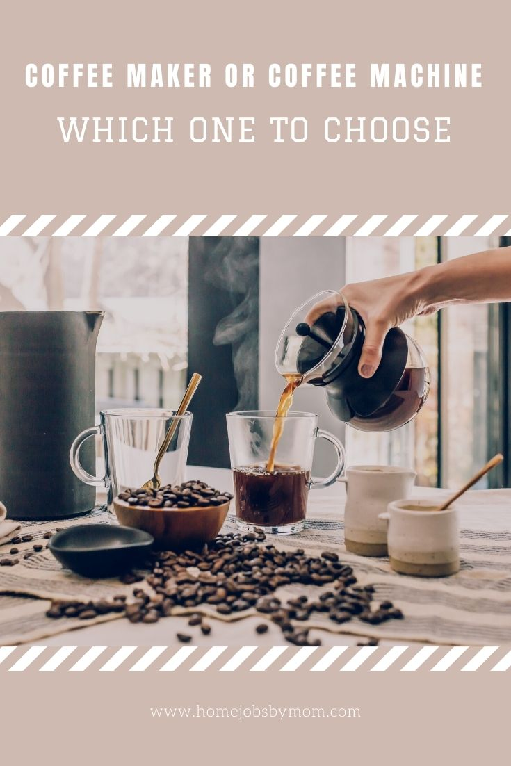 Coffee Maker or Coffee Machine_ Which One to Choose
