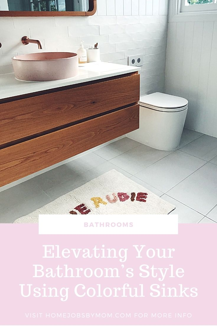 Elevating Your Bathroom's Style Using Colorful Sinks
