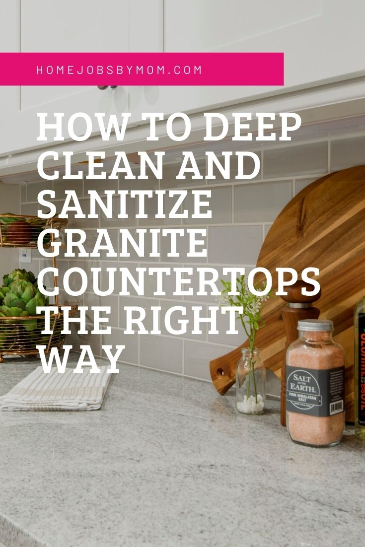 How To Deep Clean And Sanitize Granite Countertops The Right Way
