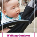 Walking-Outdoors-with-a-Baby-Stroller