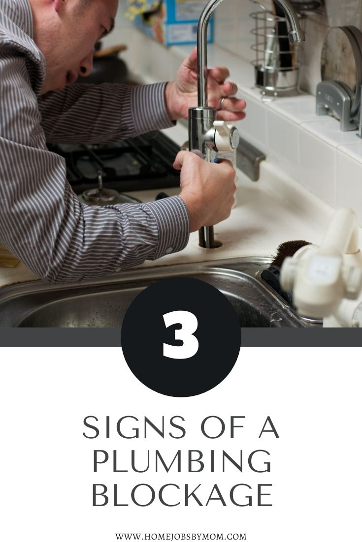 3 Signs of a Plumbing Blockage