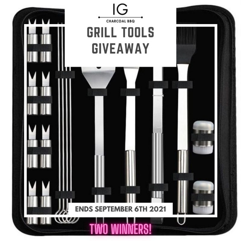 IG Charcoal BBQ Grill ToolsSet