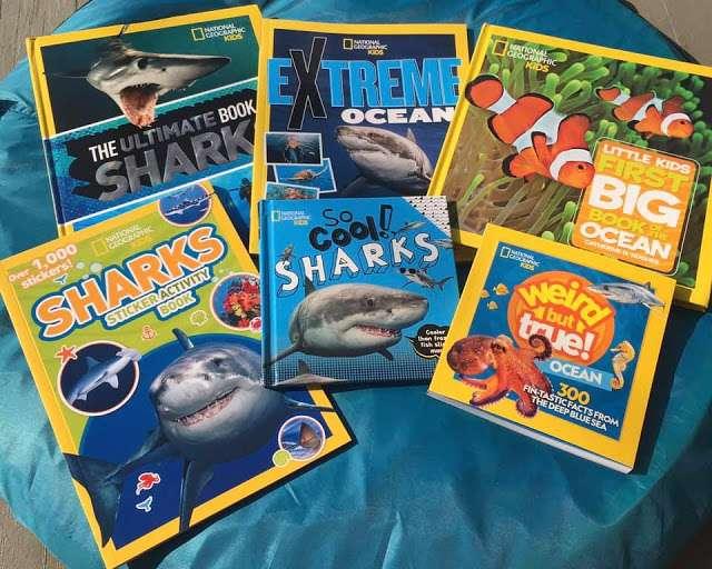 nat geo shark books