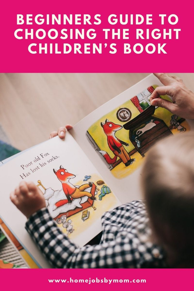 Beginners Guide to Choosing the Right Children's Book