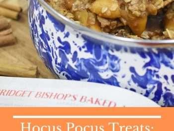 Hocus Pocus Treats Bridget Bishop's Baked Apples